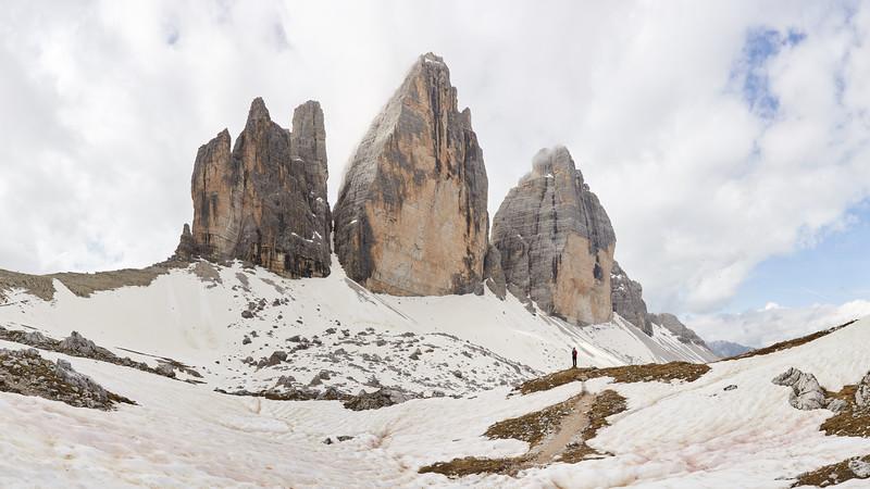Tre Cime di Lavaredo, Dolomites, Italie