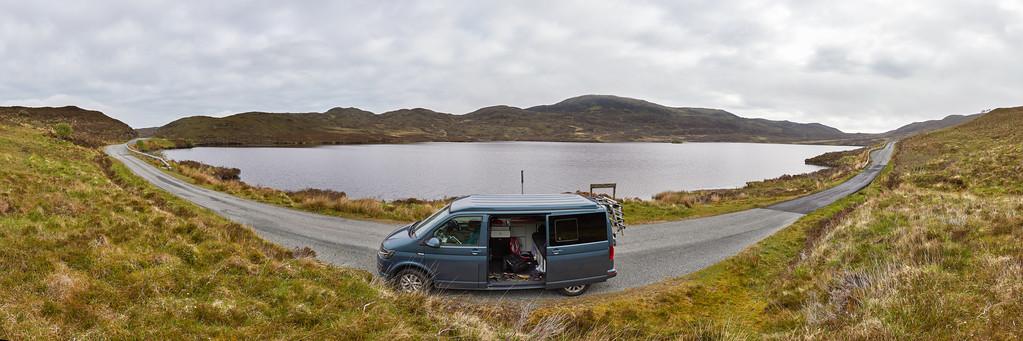 Loch Dhughaill, Ile de Skye, Ecosse