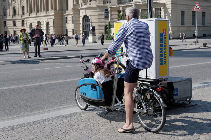 Un vélo efficace pour la petite famille