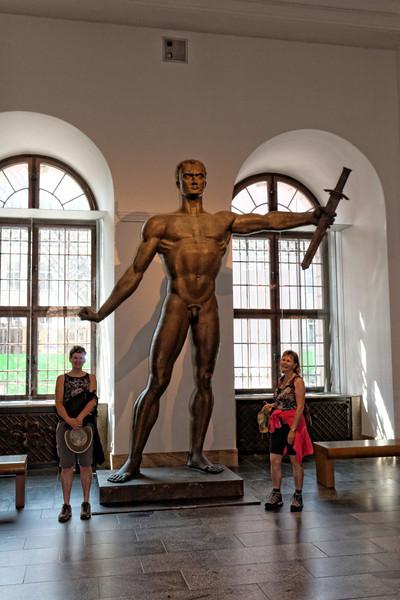 Musée Zeughaus Entrée . Nous ne l'avons pas visité car trop beau à l'extérieur