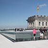 Sur le toit du Reichstag