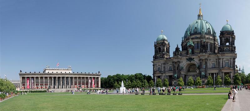 Musée Altes et cathédrale de Berlin