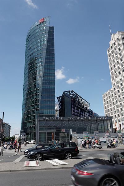 Sony Center Bahnhof Potsdamer Platza
