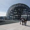 Reichstag avec sa coupole dessiner par Sir Normand Foster architecte britannique.