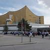 Institut de musique de Berlin. Il y avait un rassemblement de policiers lors de notre passage, nous ne savons pour qu'elle cause?