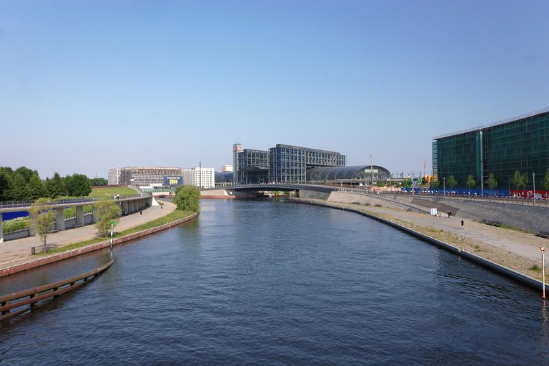 Rivière Spee, centre-ville de Berlin