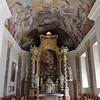 Les fresques de plafond sont présentes dans de nombreux lieux de culte dont la cathédrale de St-Nicolas