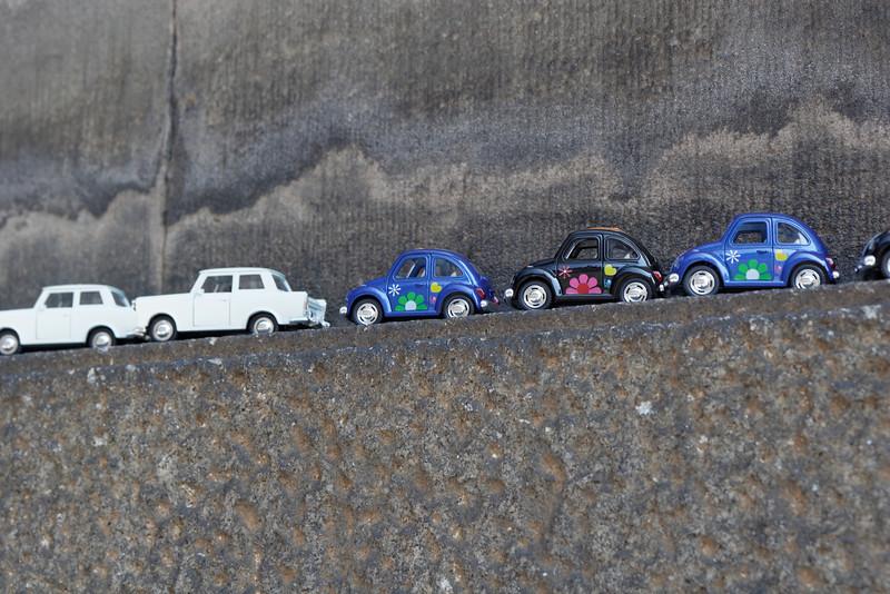 On vend de tout à Dresden même des modèles d'auto miniature