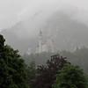 La seule photo du château Neuschwanstein prise avec mon 20D du stationnement