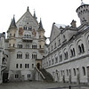 Cour intérieure du château Neuschwanstein