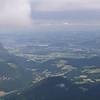 Salzbourg vue du nid de l'aigle