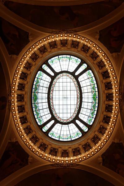 Intérieur de la maison municipale de Prague