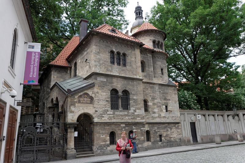 Synagogue vieille nouvelle condtruite au 13e siècle