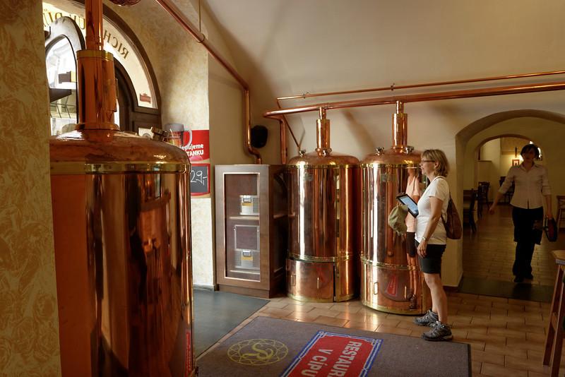 Brasserie artisanale, mais non ce n'est pas là que nous avons bu une bière.