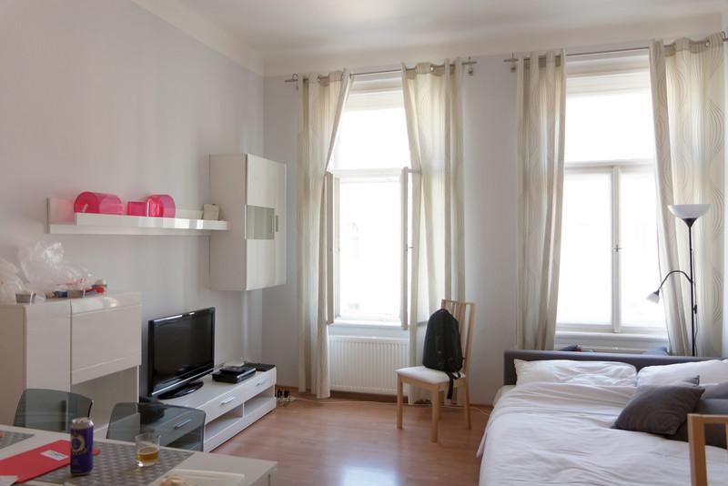 Appartement de Prague le salon de Mario et Mariette