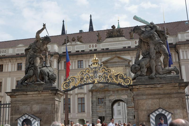 Entrée du Palais