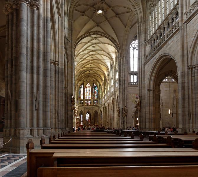 Intérieur de l'église St-Guy