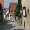 Une rue typique de l'intérieur de la ville.