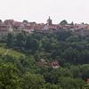 La ville de Rothenburg ob der Tauber