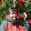 Les roses sont souvent à l'honneur.