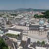 La ville de Salzbourg vue du château