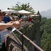 Sur la terrasse du château Festung Hohensalzburg
