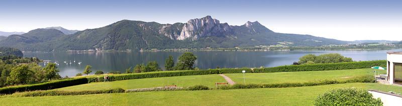 Halte routière Lac Mondsee près de Salzbourg