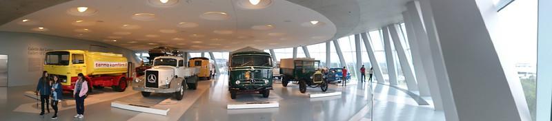 Stutgart : Musée Mercedez-Benz