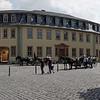 Place devant le musée de Goethe