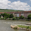 Rivière Main et ville de Wurzburg