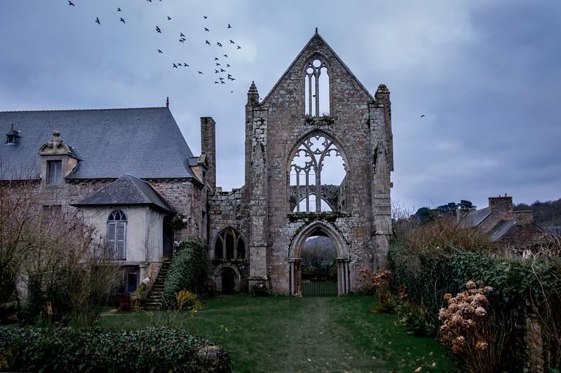 Abbaye de Beauport. Paimpol. Décembre 2018
