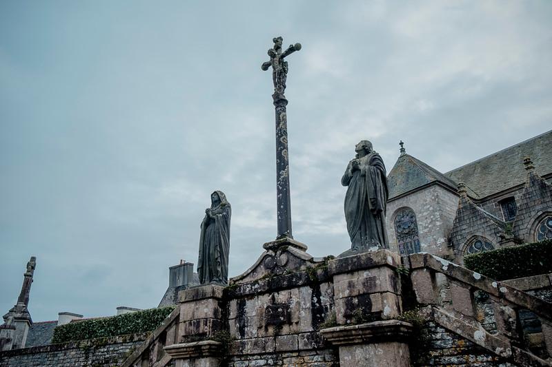 Enclos paroissial de Saint-Thégonnec. Octobre 2019