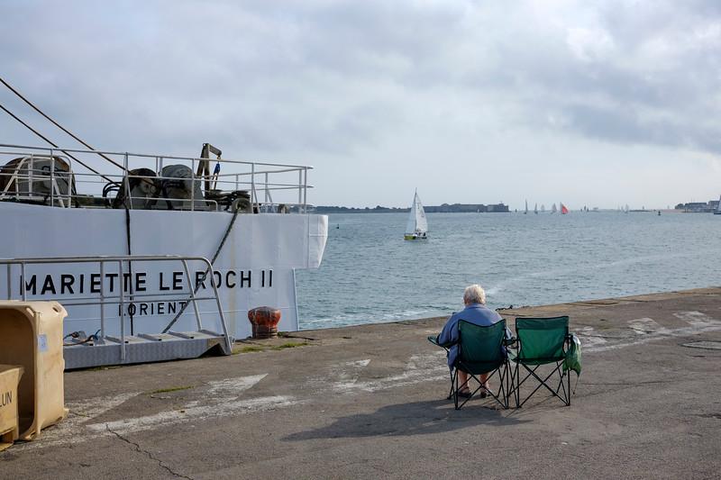 Port de Lorient. Septembre 2016