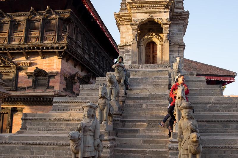 Bhaktapur, février 2019