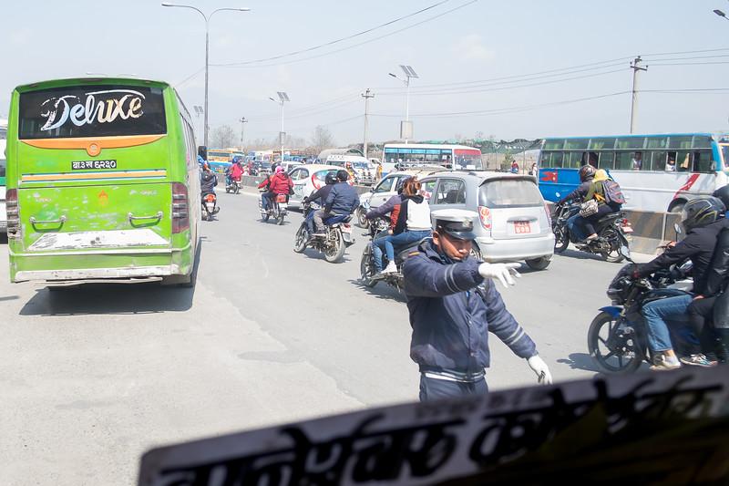 De Bhaktapur à Katmandou, février 2019