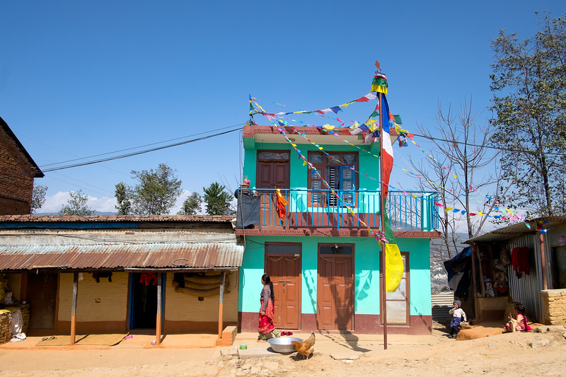 Vers Bhaktapur, février 2019