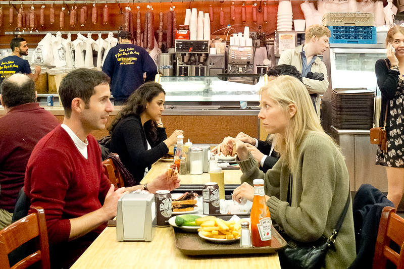"""When Harry Met Sally (for real at Katz Delicatessen)"". Avril 2013"