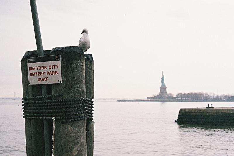 Ellis Island. Mars 2014