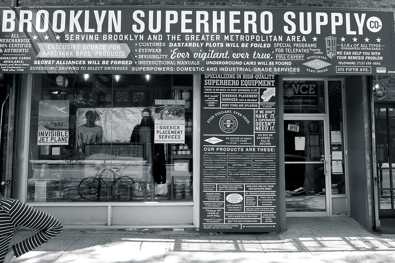 Brooklyn. Avril 2013