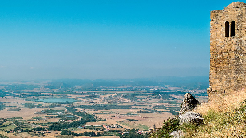 Castillo de Loarre, Aragon. 2014