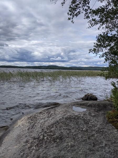 Lac près de Jyväskylä.