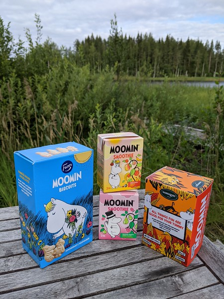 Ils sont partout ! Les Moomins véritables maîtres la Finlande.