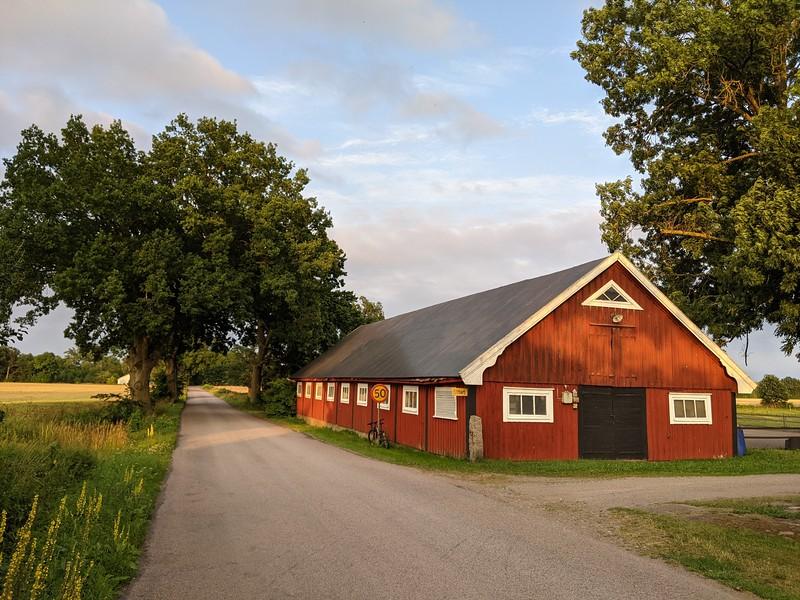 Une ferme en Scanie (Sud de la Suède)