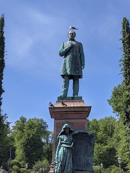 À Helsinki.