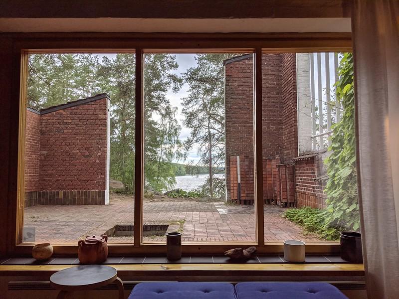 Maison d'été de l'architecte Alvar Aalto près de Jyväskylä.