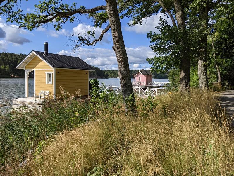 "Les ""maisons en dentelle"" de Ruissalo  (Turku, Finlande)"