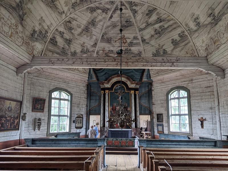 Eglise luthérienne en bois à Keuruu (1759)