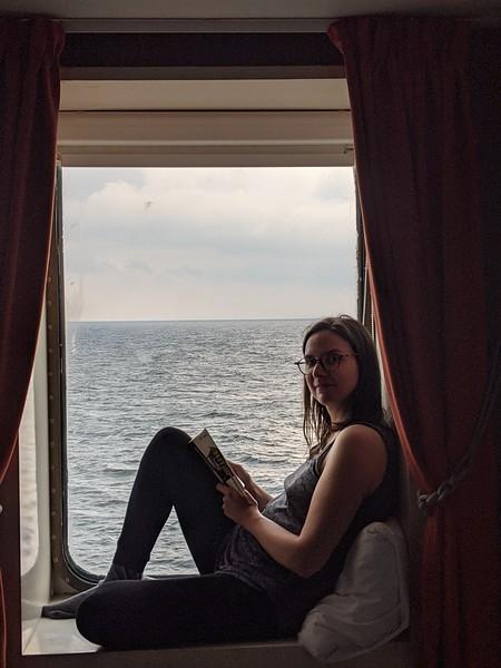 En bateau entre Helsinki et Lübeck (1100 km)