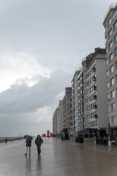 Ostende. Belgique. Novembre 2014