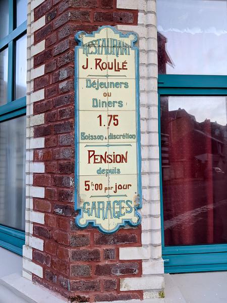 Mers-les-Bains. Somme. Janvier 2020